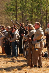 Confederate forces pause to remember. (Summer Road Studios) Tags: battle rifle soldier confederate americancivilwar aiken southcarolina usa summerroadstudios