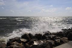 Waves (kelemvor4) Tags: rocks waves courtney campbell causeway clearwater