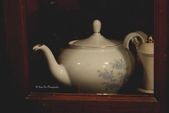 I'm a little teapot. (Anna's Simple Path) Tags: china old cute floral beautiful pretty little memories things memory fancy lovely elegant goodchina teeapot