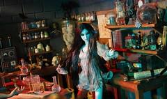 Mina in the Laboratory (MiskatonicNick) Tags: dracula mina laboratory brides integrity toyville