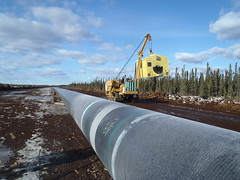 Pipeline (jasonwoodhead23) Tags: canada construction alberta pipeline