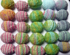 Knitted easter eggs! (anna.list) Tags: easter fun spring knitting colours eggs colourful knitted eastereggs
