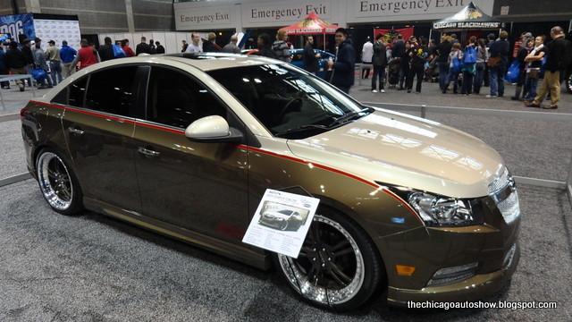 cars chevrolet autos chicagoautoshow chevycruze cas2012 2012chicagoautoshow 2011chevycruzeprojectsvelte projectsvelte