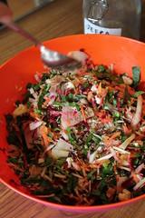 Seasonal vegetable pakora