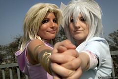 Yami Bakura e Marik Ishtar from Yu-Gi-Oh (Alessandro Guidi 1985) Tags: from hot roma sexy girl comics model cosplay e yami cosplayer yugioh ishtar 2012 alessandro marik guidi bakura romacomics