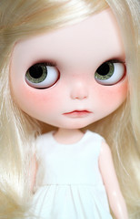 Nicky (Aya_27) Tags: cute bigeyes doll sweet mama chips handpainted handsewn blythe custom dollie freackles inhand ovely dressbyme matryoshkamaiden chaoskatenkosmos