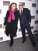 Diane von Furstenberg and Barry Diller Broadway opening night of 'Death Of A Salesman' at the Ethel Barrymore Theatre - Arrivals. New York City, USA