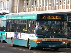 S312SHB 312 in Cardiff City Centre (rob37430) Tags: city centre cardiff 12 dart 312 cardiffbus tremorfa s312shb