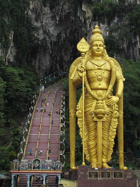 Sri Murugan at Batu Caves