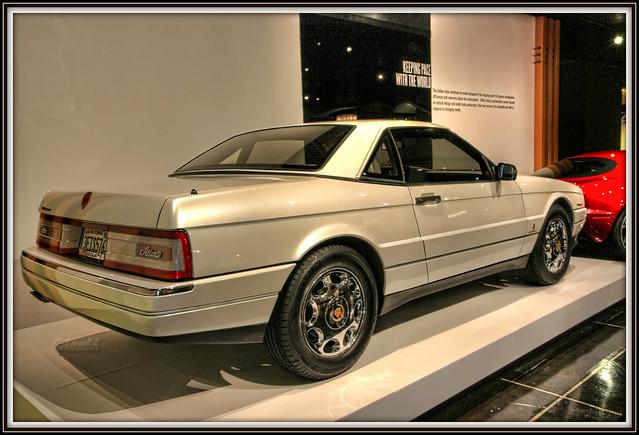 cadillac 1991 petersenautomotivemuseum allanté