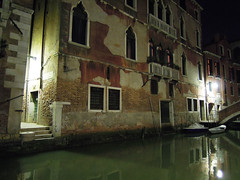 ...a quiet canal (shaun hamblin) Tags: ca trip bridge venice vacation italy panorama holiday st night square hotel canal san sony wide grand wideangle cybershot panoramic marks nightime marco venezia sweep rialto danieli formenta hx5v hx9v