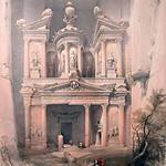 """<b>Petra</b><br/> David Roberts (1796-1864) """"Petra"""" Lithograph, 1839 LFAC #1994:05:01<a href=""""http://farm8.static.flickr.com/7058/6852408991_0627dd2e40_o.jpg"""" title=""""High res"""">∝</a>"""