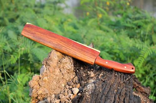 ด้าม-ฝัก ทำจากไม้แดงจีน