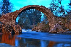 Packhorse Bridge Carrbridge (Michael~Ashley) Tags: bridge landscape photography scotland highlands long exposure scottish carrbridge refelections packhorse