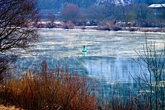 Moselle, freezing - 43/365 (Vlachbild) Tags: winter ice oneaday germany europe daily photoaday trier pictureaday moselle pfalzel rhinelandpalatinate project365 project36543 sonyslta65 2012inphotos project36512feb2012