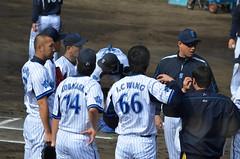 DSC_0896 (mechiko) Tags: 120205 横浜ベイスターズ デニー友利 小林太志 横浜denaベイスターズ 牛田茂樹 2012春季キャンプ