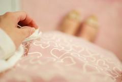 dress for Valentine's Day ♥ (Natália Viana) Tags: pink cute love rose print hearts dress coração valentinesday vestido natáliaviana