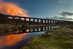 Big Water of Fleet Viaduct (.Brian Kerr Photography.) Tags: sunset fleet dumfriesandgalloway bigwater gallowayforest