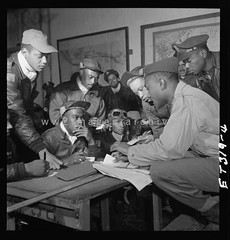 Tuskegee Airmen in Italy (ww2images) Tags: usa airplane aircraft wwii aeroplane worldwarii ww2 worldwar2 usaaf warphoto wwiiphoto ww2images ww2imagescom ww2photo worldwar2photo worldwariiphoto a14995z tuskegeepilots