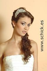 semirecogido_novia_41 (Grupo Schick) Tags: madrid de novia schick peinados semirrecogidos