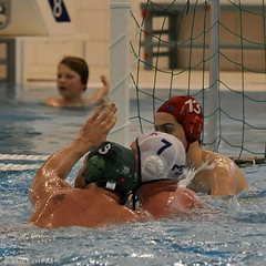 F2012_0457 (MNCwaterpolo) Tags: chris dordrecht polarbears 2012 waterpolo competitie mnc hoofdklasse competitiewedstrijd sportboulevard 18022012