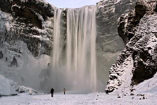 icy waterfall II