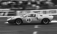 Ford GT40 - Silverstone 1986 (PSParrot) Tags: ford silverstone 1986 gt40