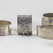 423. Group of (7) Sterling and (4) Silver Plate Napkin Rings