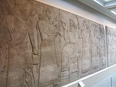 Assyrian Court Scene (D. S. Haas) Tags: uk greatbritain england sculpture london unitedkingdom camden relief bloomsbury britishmuseum middlesex assyria halas nimrud ashurnasirpalii unitedkingdomofgreatbritainandnorthernireland haas ancientassyria