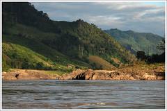 Mekong trip - like 6 hours of magnificent cinema (Superlekker) Tags: boat slow north jungle laos mekong