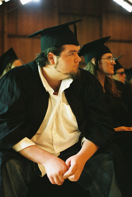Thoughtful Graduate