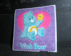 sticker (care bear) (mikaplexus) Tags: bear flowers blue favorite flower art animal animals hearts toy toys rainbow sticker purple heart bears stickers cartoon collection collections wishes stick rainbows collectible wish carebear carebears cartoons collect collectibles collecting artstuff slaps ireallylike stickercollection wishbear