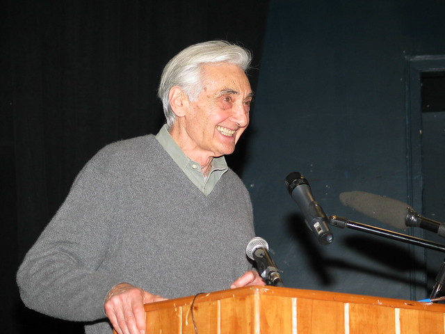Howard Zinn Smiles