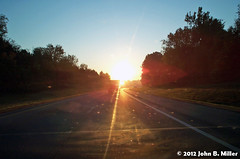 Interstate 81 - Dawn 1 (jmillerdp) Tags: road trip travel color digital sunrise dawn highway kodak roadtrip interstate 81 dc280
