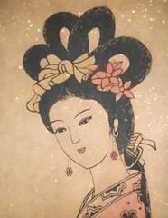 中國古代歷史上四大美女之一 西施 Shi Shy One of Top 4 Famous Beauties of Ancient China in the History