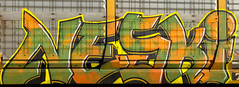 Neski (NoMasters) Tags: train graffiti graf trains freighttrains wyoming graff piece freight cheyenne 2012 wy freights benching