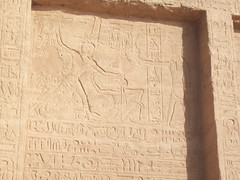 Stone-Cut Reliefs at Abu Simbel (VI) (isawnyu) Tags: building history archaeology stone architecture religious temple ancient masonry egypt carve nile relief valley pharaoh horus civilization abu decorate ramses simbel egyptology ramesses smite pleiades:depicts=721417202