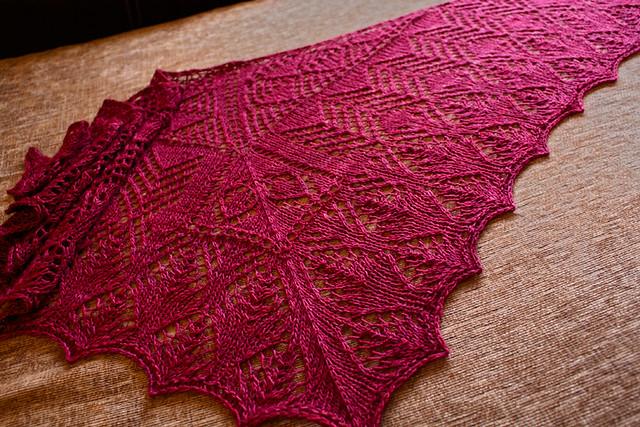Papilio Shawl - Knitting Pattern