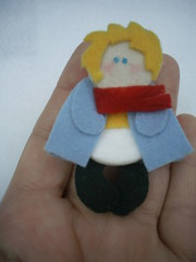 pequeno príncipe (Veluarts Atelie) Tags: broche felt bebê príncipe feltro aniversário maternidade pequeno ímãs acessórios lembrancinhas chaveiros fieltro