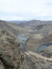 Yakima River at Roza Dam