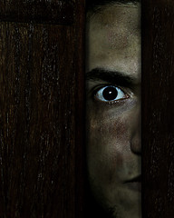 Me :) (Rayan Al-saedi) Tags: portrait face darkness angry