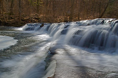 Take Your Pick (+David+) Tags: sunshine waterfall corbettsglen allenscreek twoalike postcardfalls
