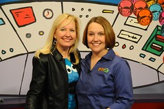 Deb and Jennifer (Iowa Public Television) Tags: public television festival kids iowa clubhouse johnston iptv iowapublictelevision kidsclubhouse danwardell iptvfriends festival12 friendsofiptv festival2012
