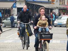 Amsterdam de Dam Papafiets (Nik Morris (van Leiden)) Tags: amsterdam de dam papafiets