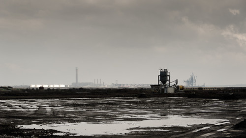 Industrial landscape, Thames Estuary, London, From FlickrPhotos