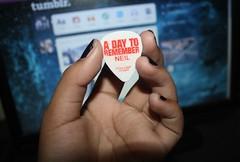 A Day To Remember (disc0-shit) Tags: adaytoremember pick guitarpick adtr joshuawoodard alexshelnutt neilwestfall jeremymckinnon kevinskaff
