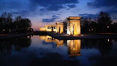 Templo de Debod, Madrid. (M Roa) Tags: greatphotographers takenwithlove royalawards elitephotographers ultimatephotographers sungodphotographer