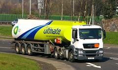 MAN - BP Ultimate Fuel (scotrailm 63A) Tags: trucks tankers lorries