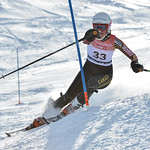 Laura SWAFFIELD of WMSC/Canada takes 15th Place in the U16 Girls Slalom Race held on Whistler Mountain on April 6th, 2014. Photo by Scott Brammer - coastphoto.com - coastphoto.com