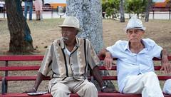 Bench time - part 4 (Marija Vujosevic) Tags: park parque people bench faces gente cuba banco kuba
